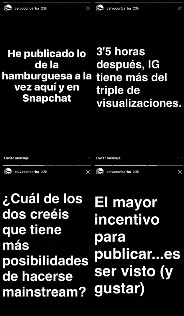 conclusiones instagram