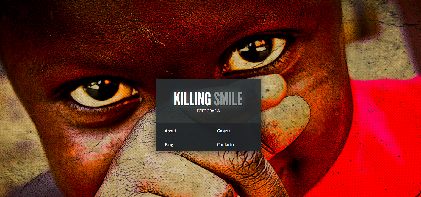 Cómo empezar en wordpress: Killing Smile Photo