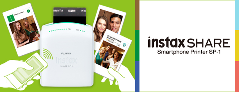 Unboxing instax SHARE SP-1